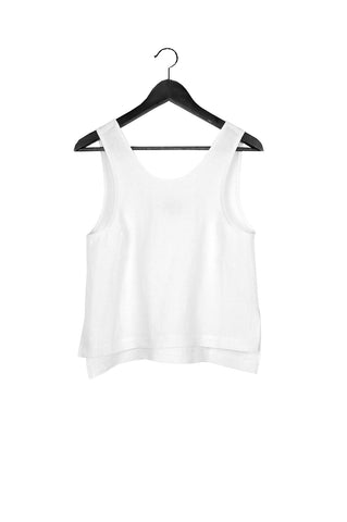 Roxey Tank, Cream, Washed Linen