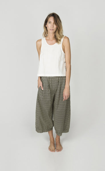 Roxey Tank, Smoke, Washed Linen