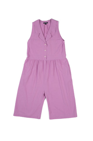 Violet Jumpsuit, Grape, Cotton