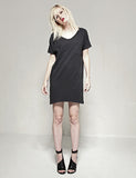 #60 Tee Dress, Java Wash