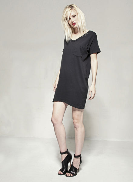 #60 Tee Dress, Marine Wash