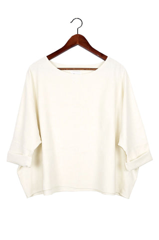 T Top, Natural Raw Silk
