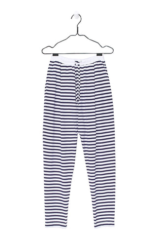 Lounge Pant, Blue White Stripe