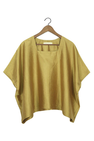 Square Tee, Gold Silk (Sunchild Exclusive)