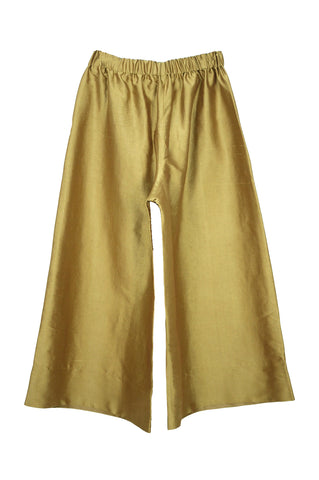 Wide Pant, Gold Silk (Sunchild Exclusive)