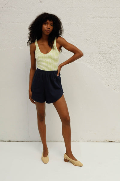 Capri Short, Navy