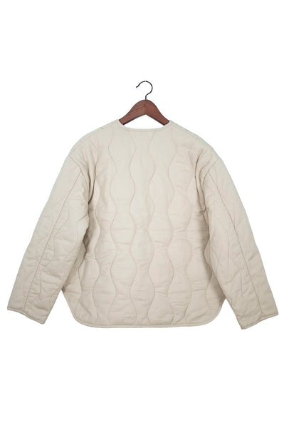 Dune Quilted Jacket, Pearl