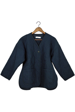 Diamond Quilted Jacket, Midnight