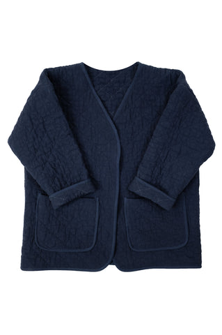 Quilted Jacket, Navy