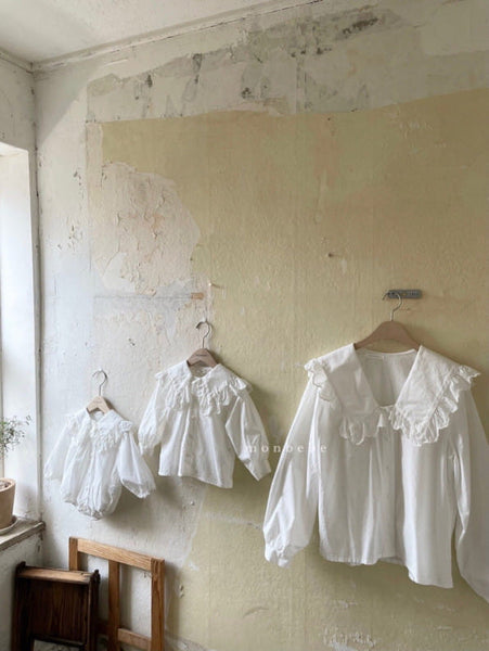 Romantic Blouse, Ivory (Baby)