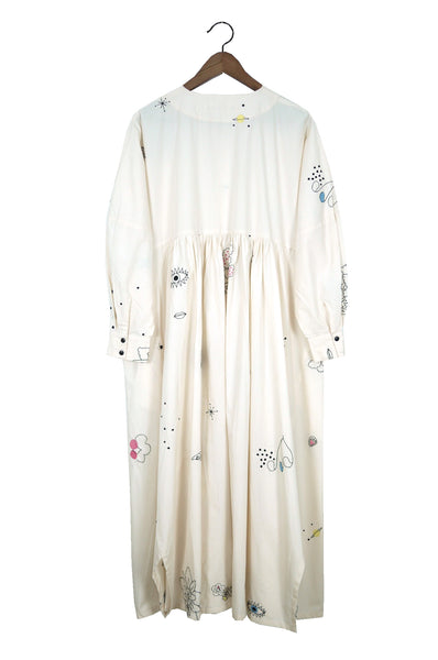 Nadine Dress, Chapelle Embroidery