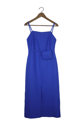 Museo Dress, Blue
