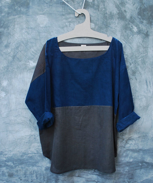 Everyday Top, Indigo/Charcoal