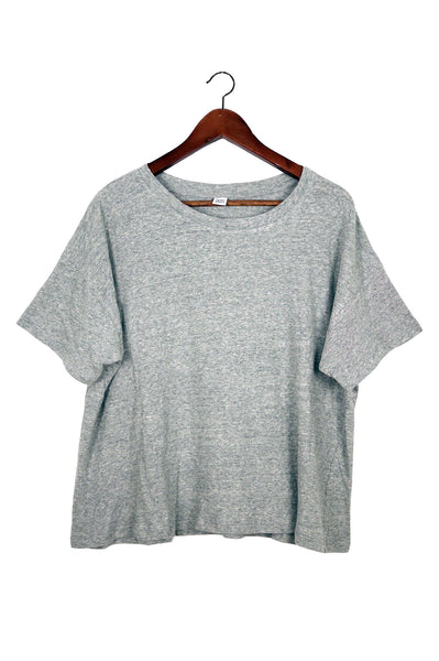 Recycled Cotton Tee, Grey