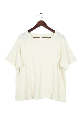 Recycled Cotton Tee, Oat