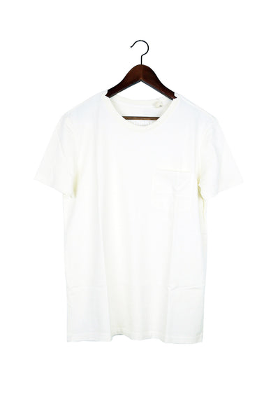 #49 Short Sleeve Tee, White Wash