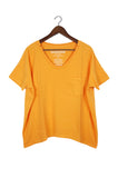 #61 Short Sleeve Tee, Orange Wash