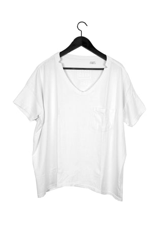 #61 Short Sleeve Tee, White Wash