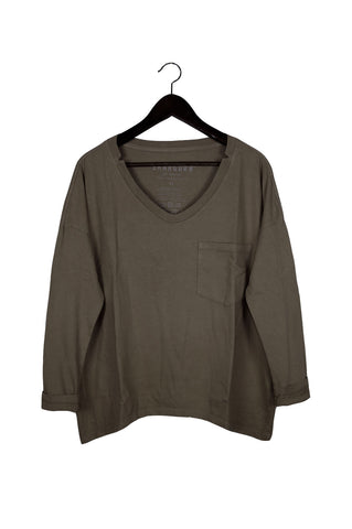#62 Long Sleeve Tee, Char Wash