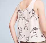 Tank Top, Villa Block Print