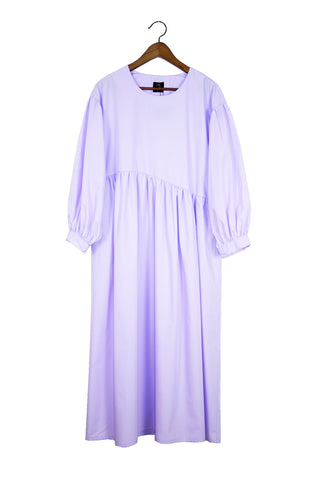 Jayme Dress, Lavender Poplin