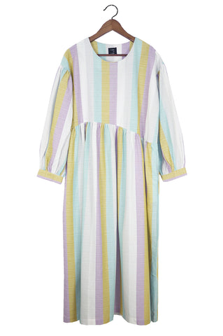 Jayme Dress, Stripes Cotton