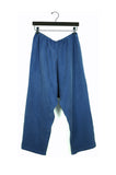 Blue Cupro Pants