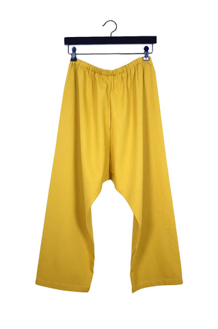 Yellow Lyocell Pants