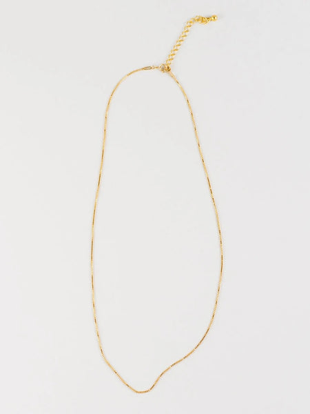Clea Necklace, Gold