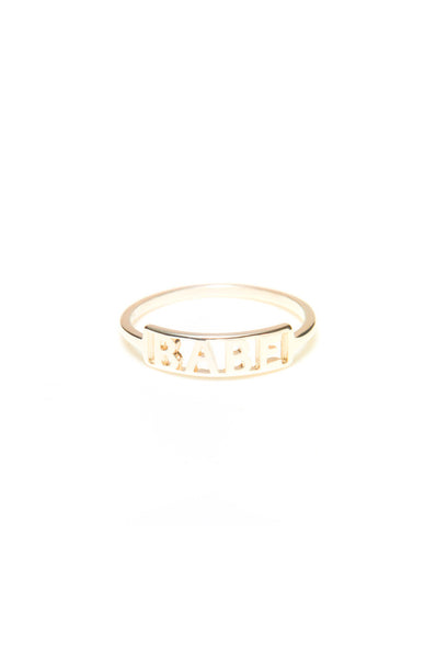 Babe Ring, 14K Yellow Gold