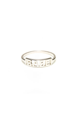 Babe Ring, Sterling Silver