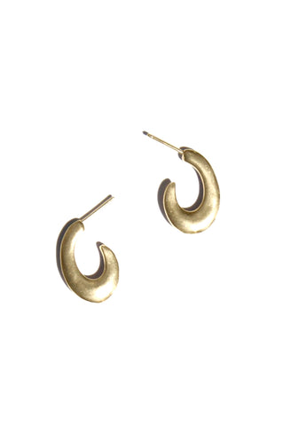 Jamie Earrings, Gold Plated