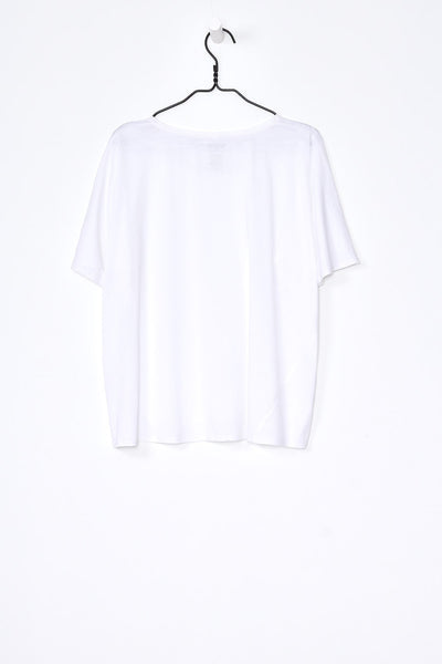Oversized Top, White