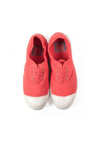 Lace Up Tennis, Coral