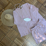 August Shorts, Dusty Lilac