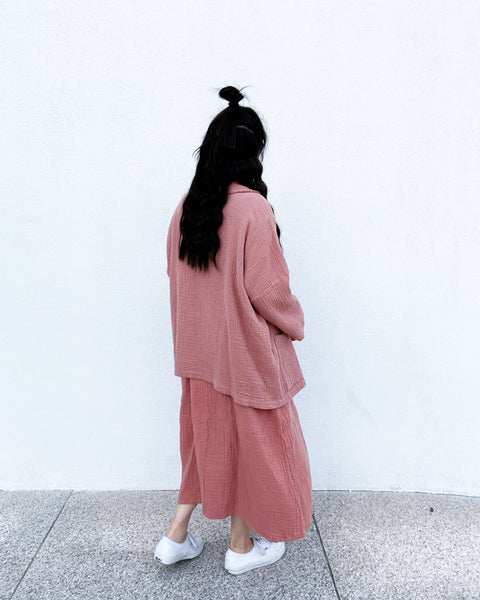 September Robe, Dusty Pink