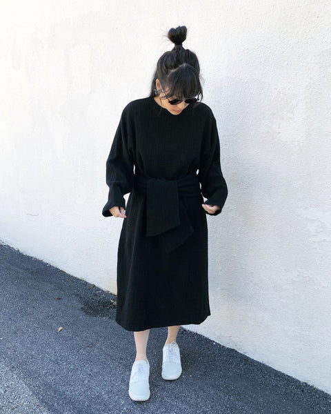 October Dress, Black