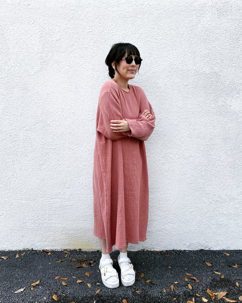 October Dress, Dusty Pink