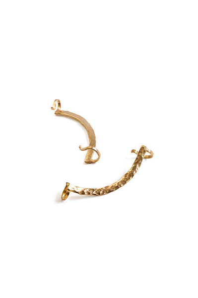 Minimalist Ear Cuff, Gold (Left Ear)