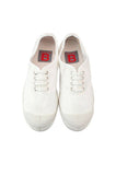 Lace Up Tennis, White
