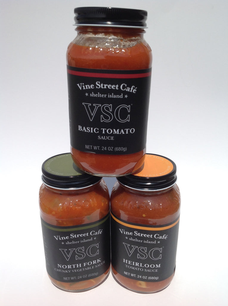Vine Street Cafe Sauces