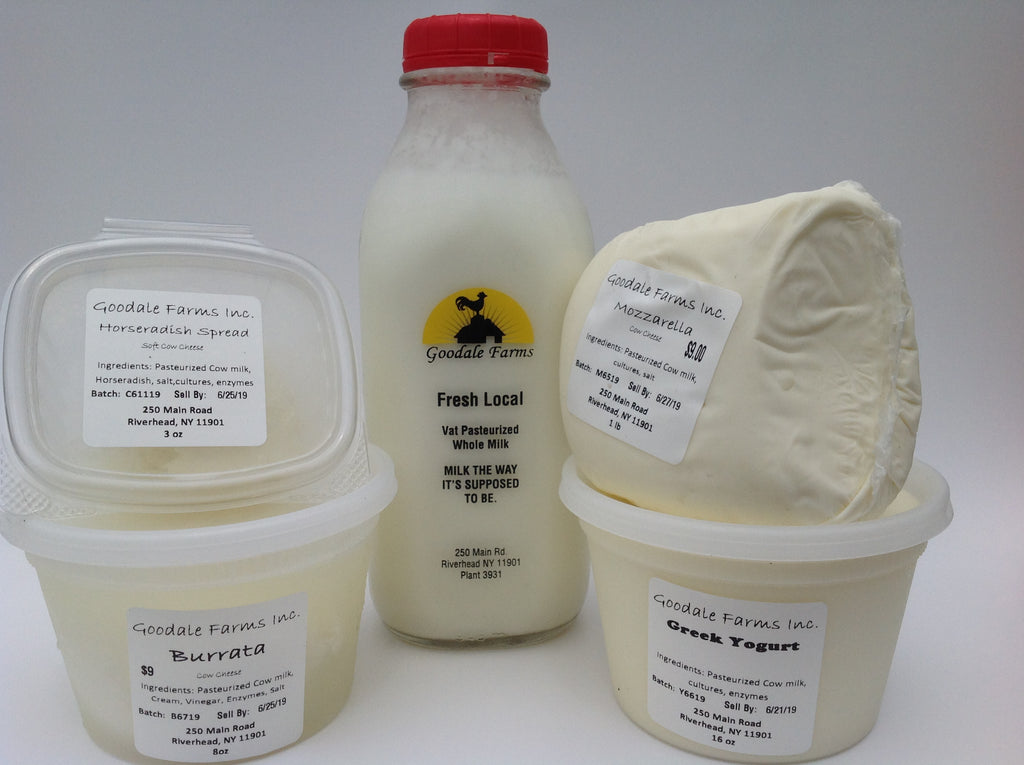 Goodale Farm Milk Products