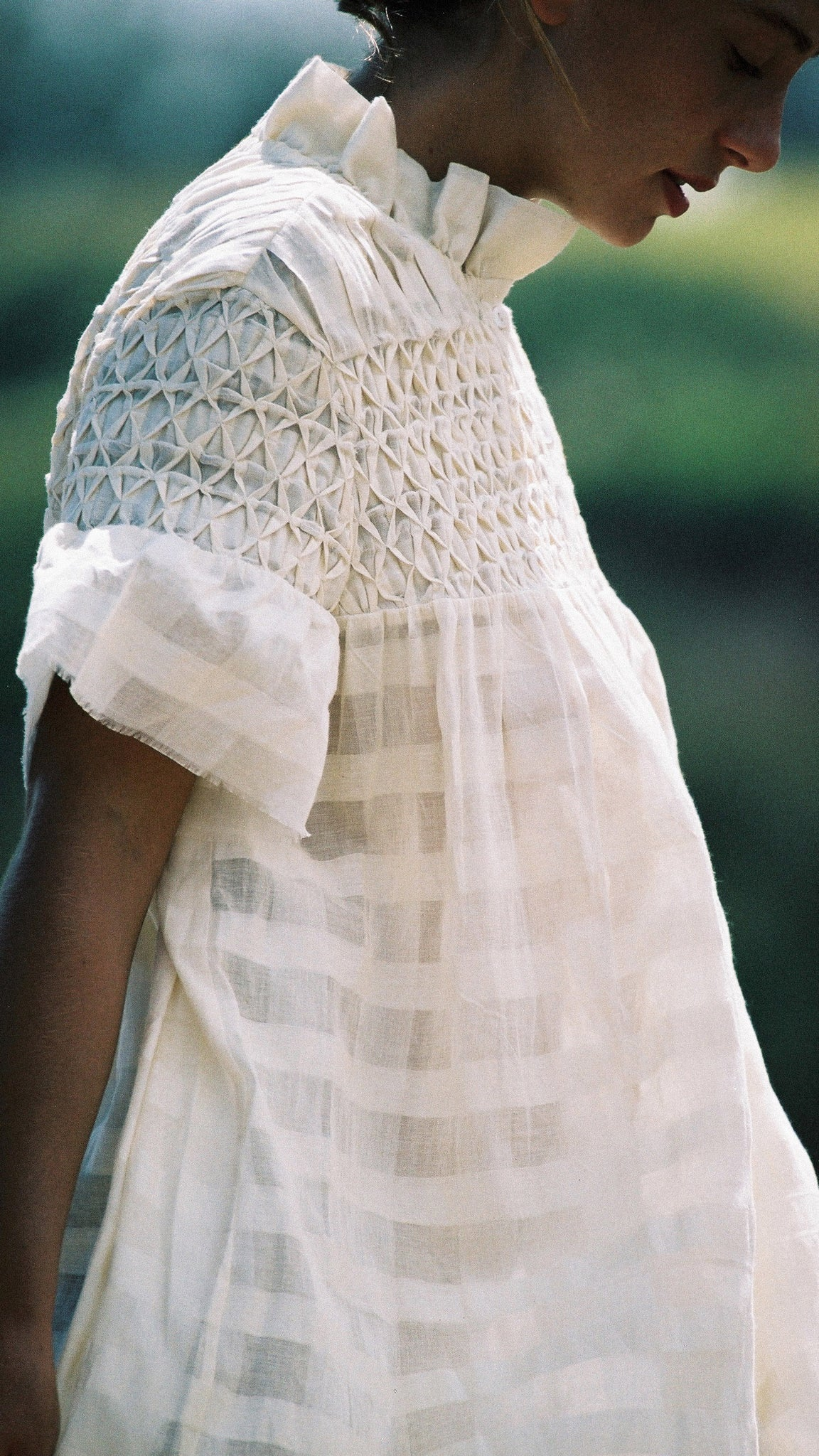 Isabel Dress, <i>muslin check</i>