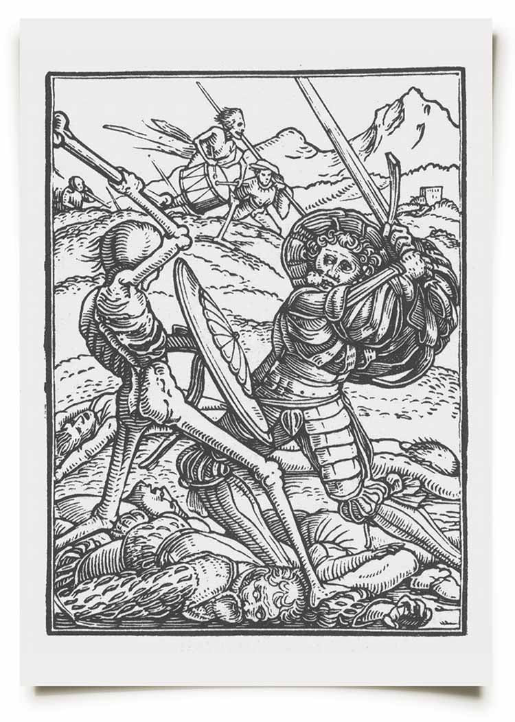 La Mort Clothing Holbein Dance of Death Prints 4