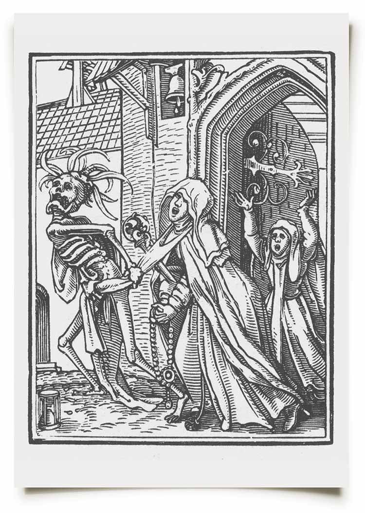 La Mort Clothing Holbein Dance of Death Prints 3