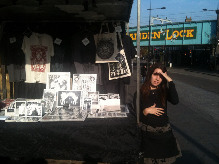 La Mort Clothing at Camden Market