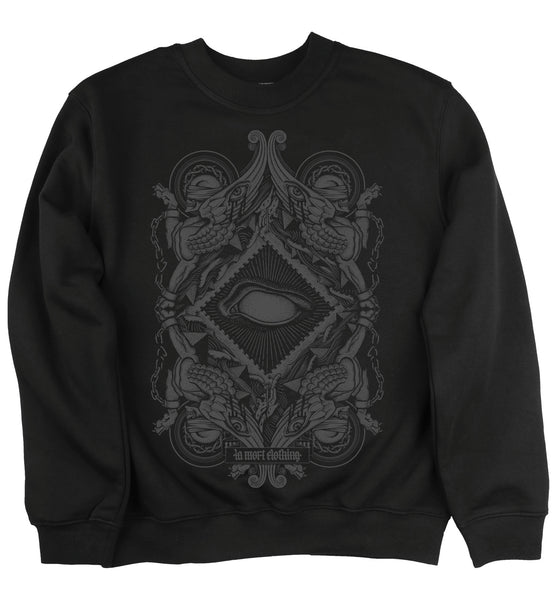 Blind Black Printed Jumper/Sweatshirt
