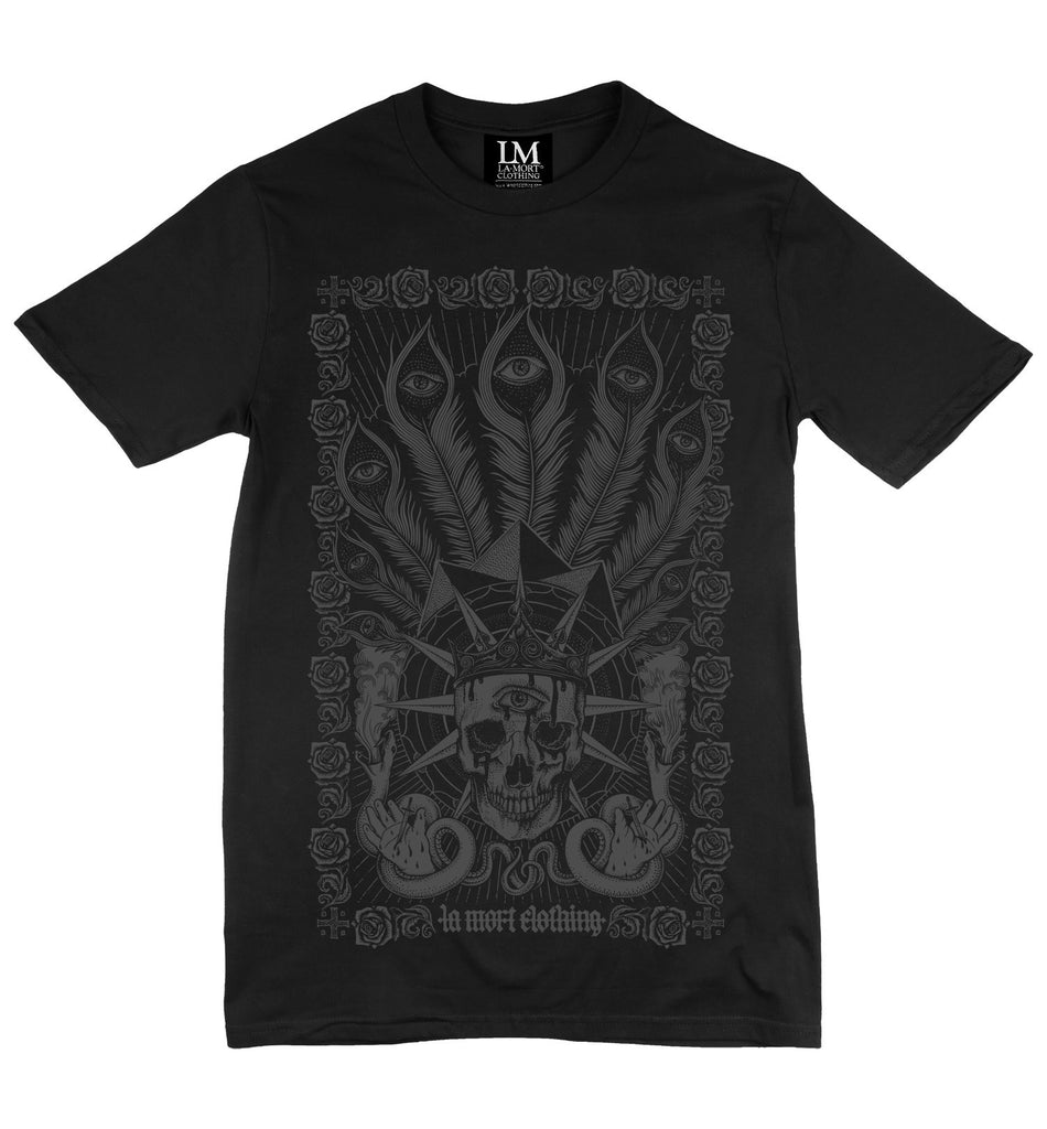 Black Firstborn Printed T Shirt For Men