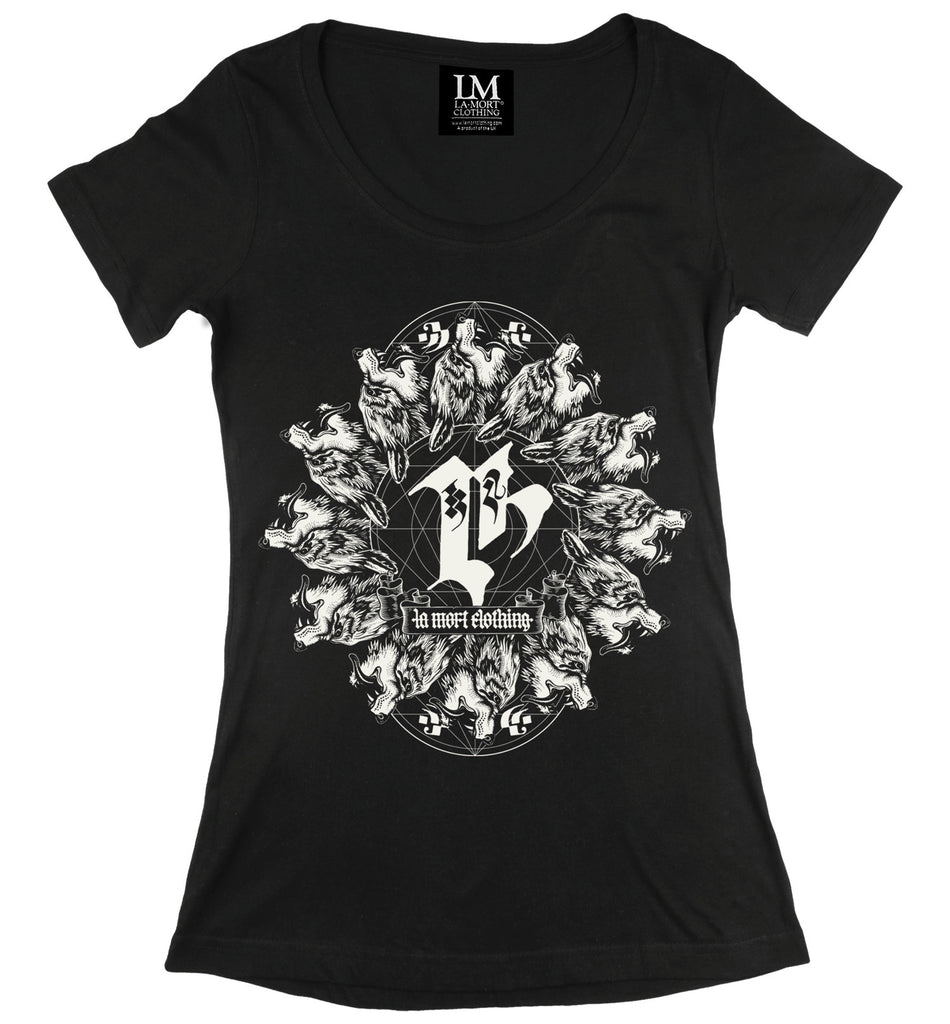 Coven Scoop T-shirt (BW/B)
