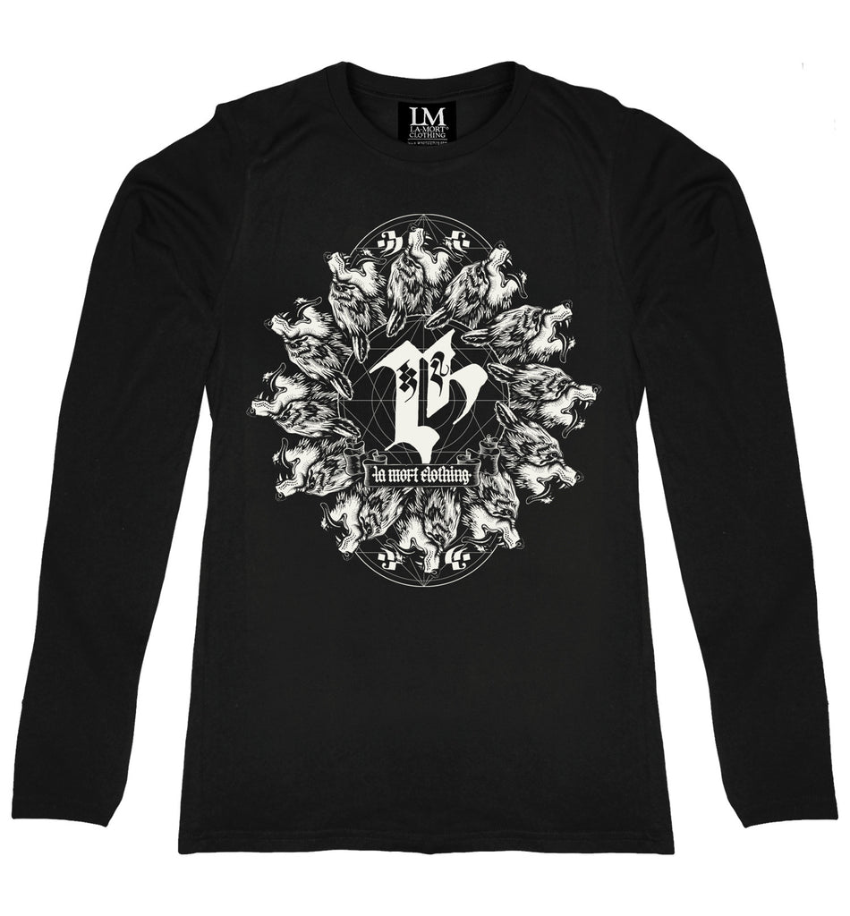 Coven Long Sleeve T-shirt (BW/B)